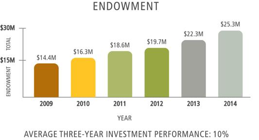 Endowment Chart